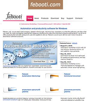 febooti.com web site